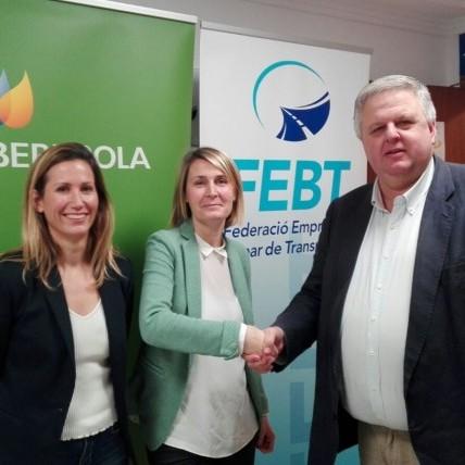 Acuerdo de Colaboración con IBERDROLA y FEBT - Federació Empresarial Balear de Transports